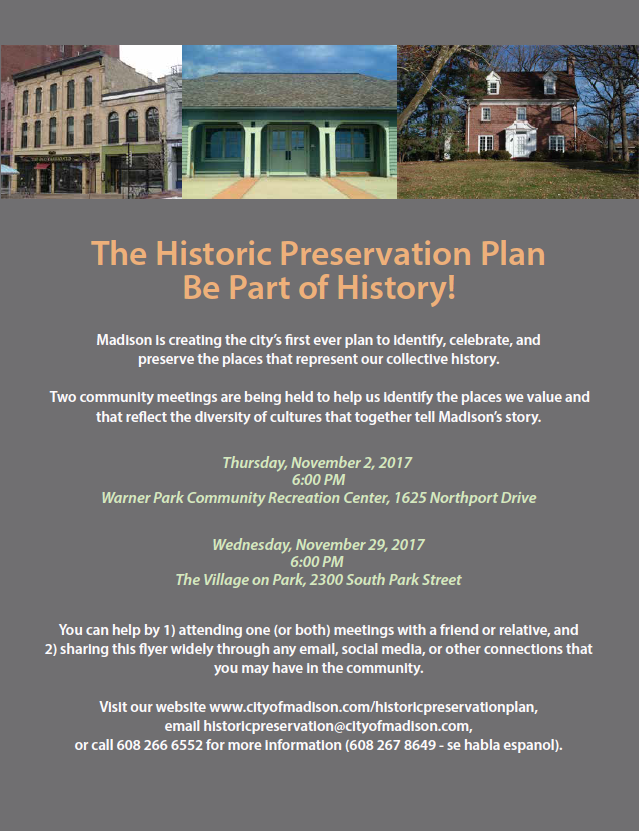 Historic Preservation Plan